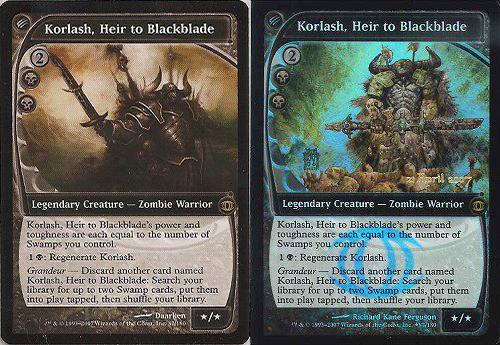 黒き剣の継承者、コーラシュ/Korlash, Heir to Blackblade