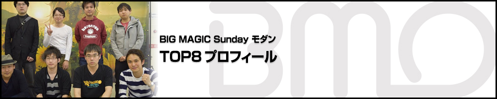 BIG MAGIC Sundayモダン TOP8プロフィール