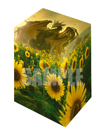 特製デッキケース -BIG MAGIC Open Vol.9 Deckcase「Sunflower Dragons」-