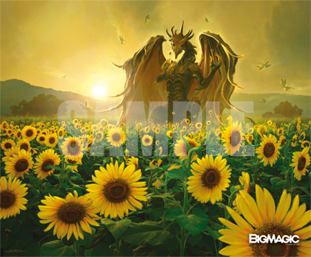 特製マウスパッド -BIG MAGIC Open Vol.9 Mousepad「Sunflower Dragons」-