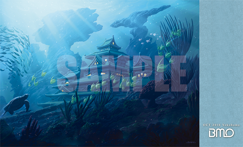 特製プレイマット -BIG MAGIC Open Vol.7 Playmat「天の川」-