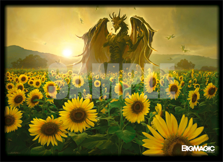 特製スリーブ -BIG MAGIC Open Vol.9 Sleeve「Sunflower Dragons」-