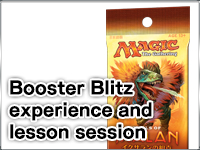 Booster Blitz experience and lesson session