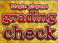 Magic players grading check